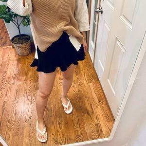 Zara mini satin effect skorts